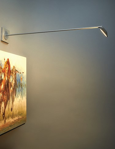 accent lighting for photos or merchandise by Bruck Gallery