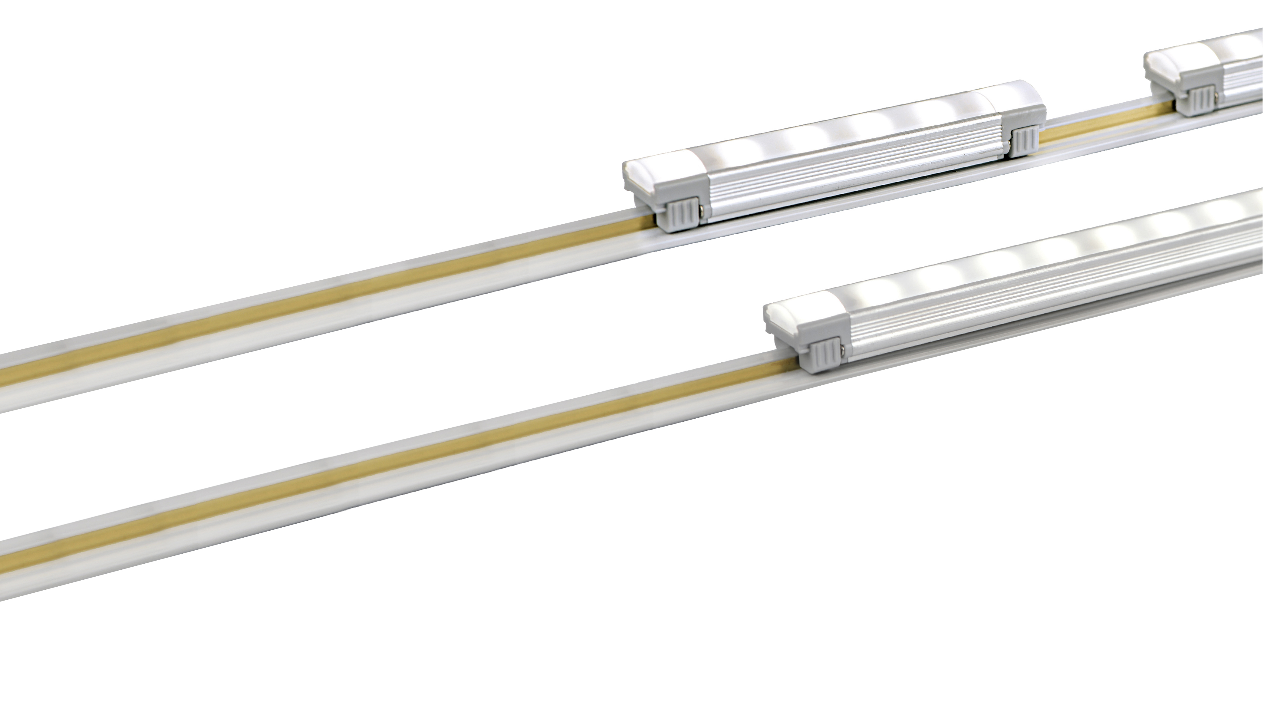 Charmant Feelux MonoRail. A Simply Linear Track Creates Totally Modular Display,  Under Cabinet And Even Cove Lighting