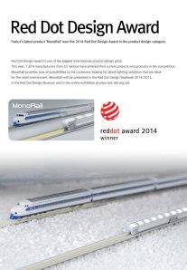 Feelux wins Red Dot Design Award